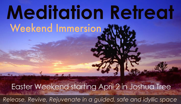 Weekend meditation retreat los angeles